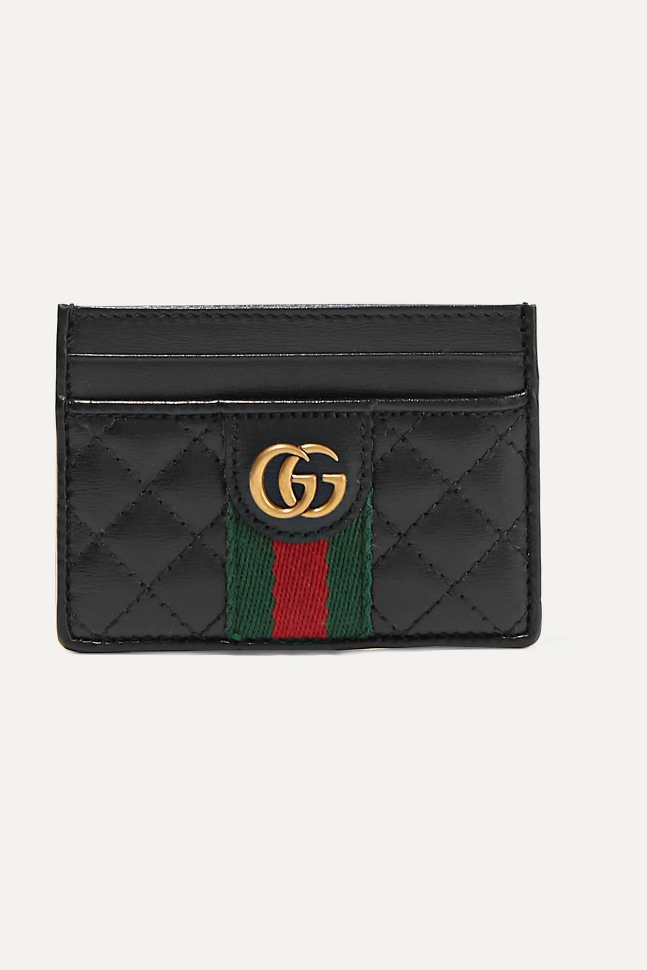 Gucci Quilted leather cardholder