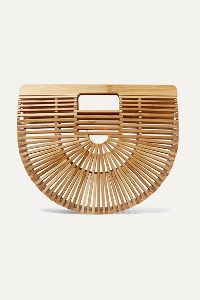 Ark Small Bamboo Clutch by Cult Gaia