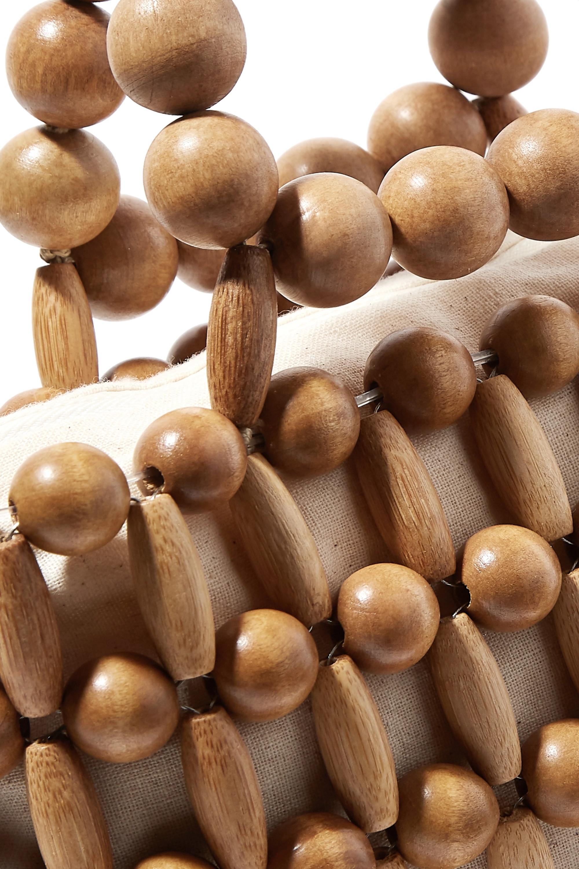 Cult Gaia Cora mini bamboo tote