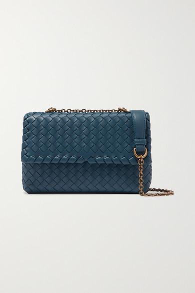 Baby Olimpia Small Intrecciato Leather Shoulder Bag by Bottega Veneta