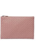 9a7cccb1c1 Bottega Veneta Intrecciato leather pouch