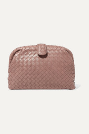 Bottega Veneta Lauren 1980 intrecciato leather clutch