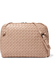 Bottega Veneta Nodini intrecciato leather shoulder bag