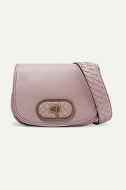 Bottega Veneta Luna small intrecciato leather shoulder bag