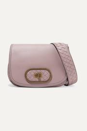 보테가 베네타 Bottega Veneta Luna small intrecciato leather shoulder bag