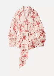 Rushcutters Bay printed cotton-poplin shirt