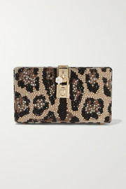 Dolce & Gabbana Dolce Box crystal-embellished acrylic clutch