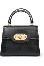 Dolce & Gabbana Welcome medium lizard-effect leather tote