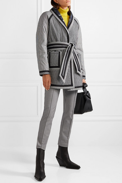 Opening Ceremony Pants Gingham cady skinny pants