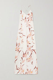 Zimmermann Corsage floral-print linen maxi dress