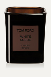 TOM FORD BEAUTY Private Blend White Suede Scented Candle, 595g