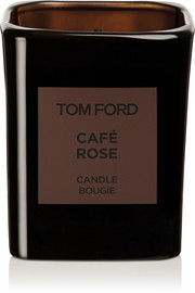 TOM FORD BEAUTY Private Blend Café Rose Scented Candle, 595g