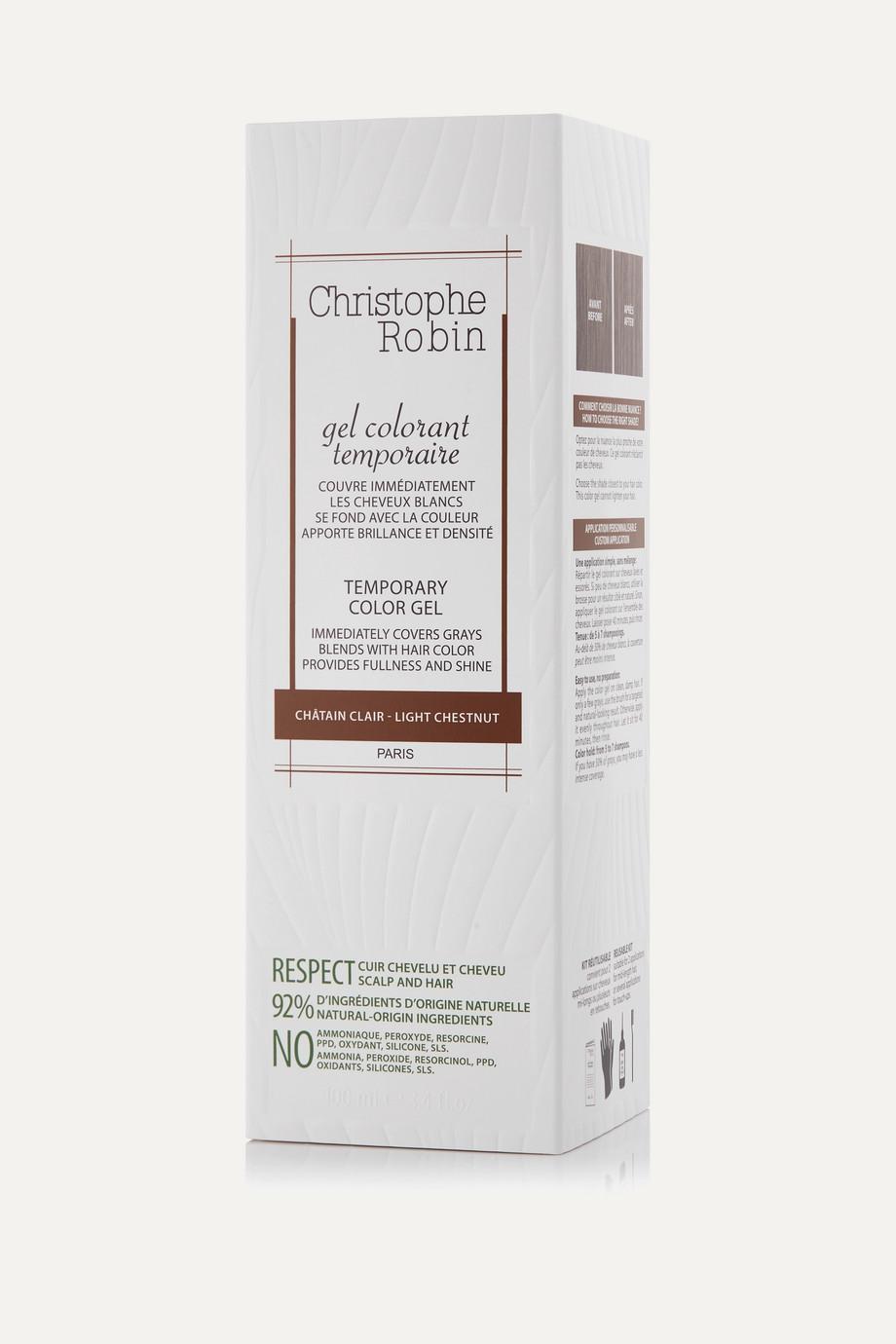 Christophe Robin Temporary Color Gel – Light Chestnut, 100 ml – Haartönung