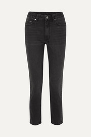 Ksubi Slim Pin Hi Society high-rise slim-leg jeans