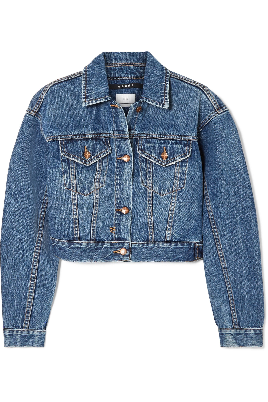 Ksubi Jett cropped denim jacket