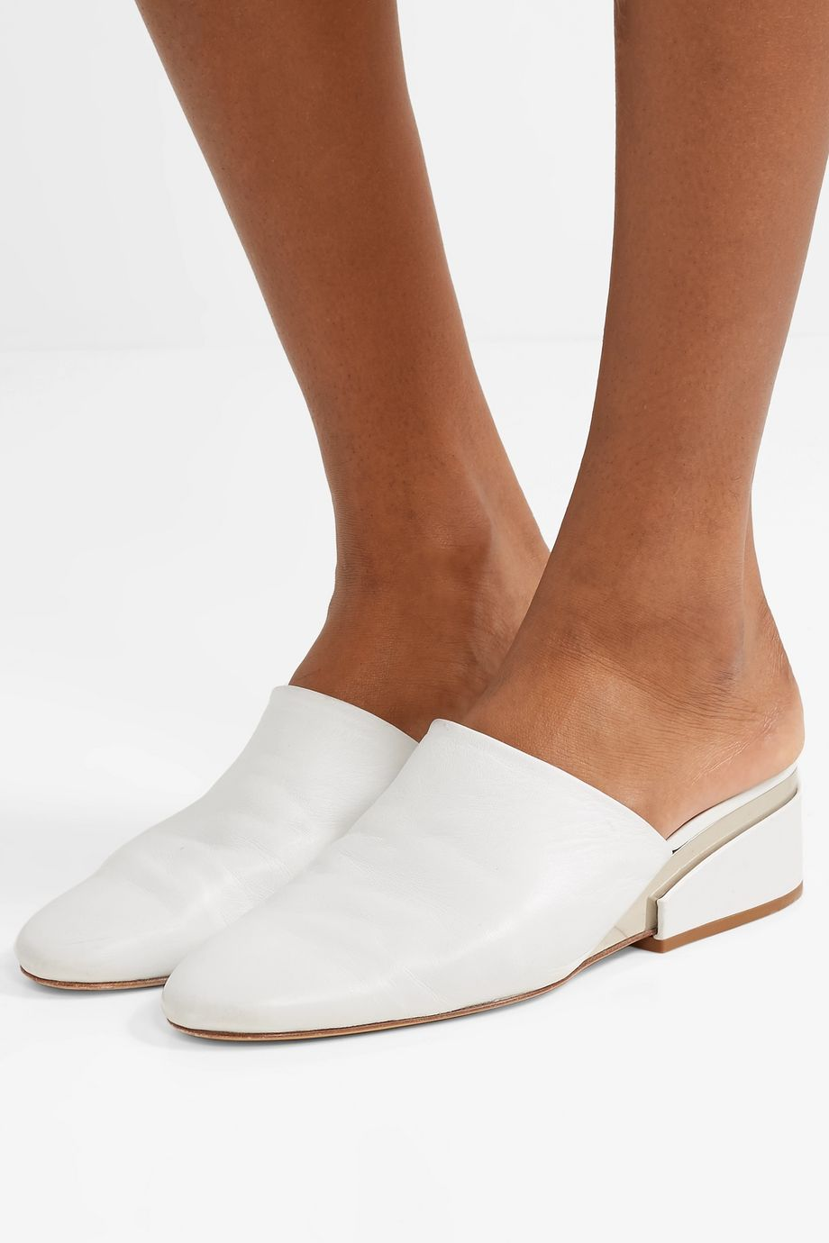 Gabriela Hearst Adele leather mules