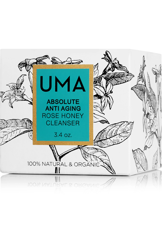 UMA Oils + NET SUSTAIN Absolute Anti-Aging Rose Honey Cleanser, 100ml