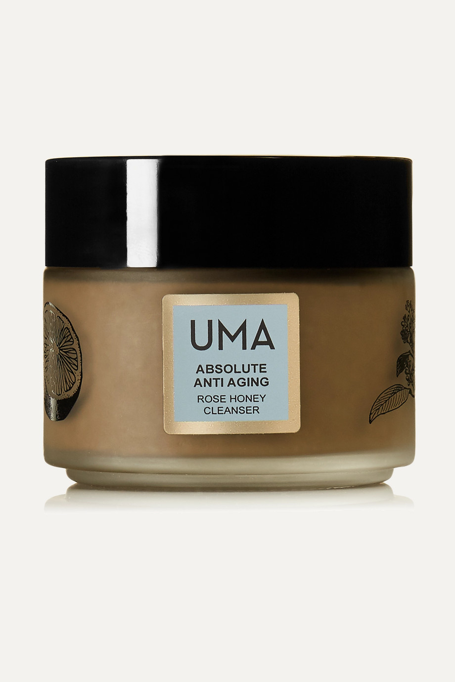 UMA Oils + NET SUSTAIN Absolute Anti-Aging Rose Honey Cleanser, 100ml