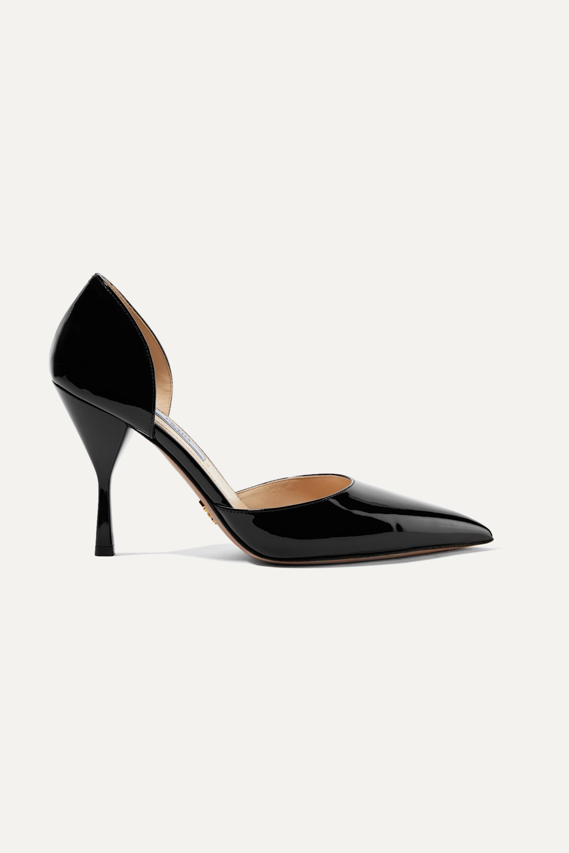 Black 95 patent-leather pumps | Prada