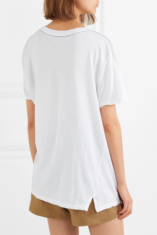Bassike Stretch organic cotton-jersey T-shirt