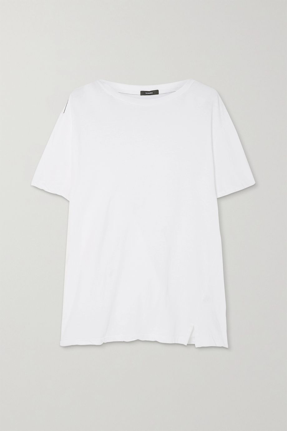 Bassike Organic stretch-cotton jersey T-shirt