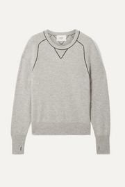Bassike Embroidered cashmere sweater