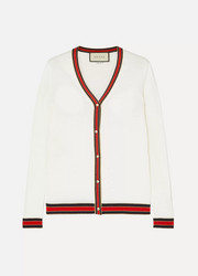 Gucci Striped wool cardigan