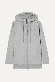 Essentials French cotton-blend terry hoodie