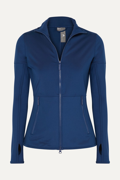+ Parley for the Oceans Essentials Jacke aus Climalite® Material aus Stretch Jersey