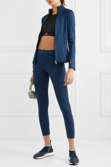 781e4613834 adidas by Stella McCartney. + Parley for the Oceans Essentials mesh-paneled  Climalite leggings