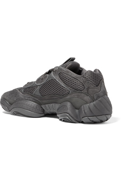 reputable site 0e67d 79e76 + Kanye West Yeezy 500 Desert Rat suede and mesh sneakers