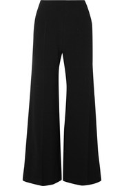Emilia Wickstead Hulline stretch-crepe wide-leg pants
