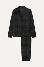 Rails Checked flannel pajama set