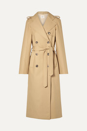 Felice cotton-gabardine trench coat
