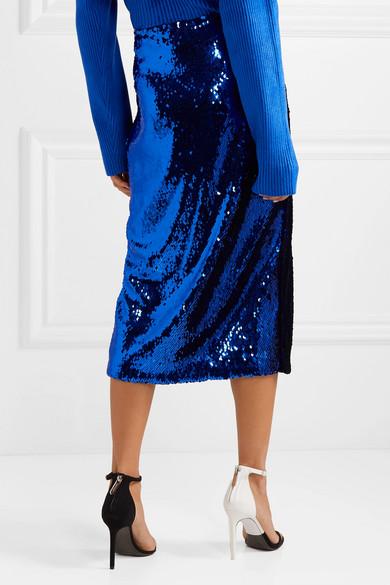 f67274992d61a7 Sally LaPointe | Jupe midi en tulle à sequins | NET-A-PORTER.COM