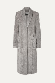 Sally LaPointe Faux fur coat