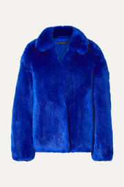 Sally LaPointe Faux fur jacket