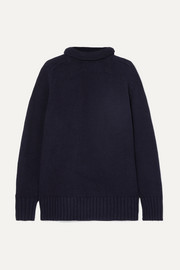 Sloppy Joe cotton-blend turtleneck sweater