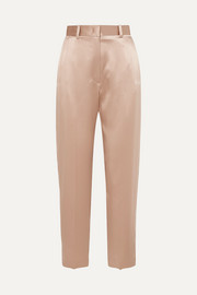 Joseph Electra silk-satin tapered pants