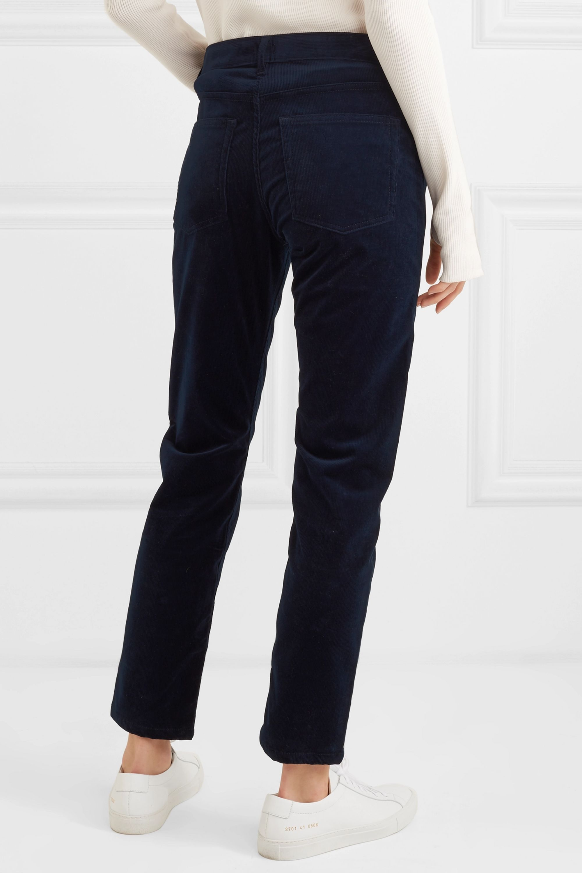 Joseph Kemp cotton-blend corduroy slim-leg pants