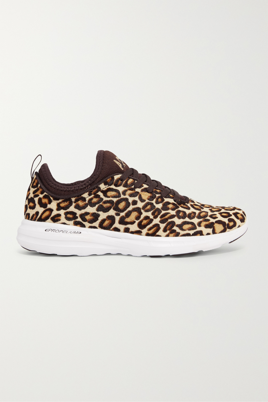 Leopard print TechLoom Phantom 3D calf