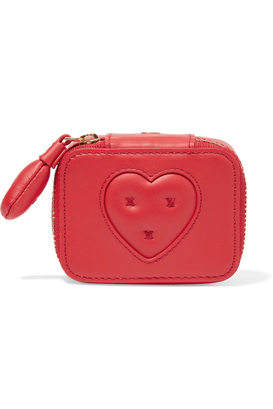 Keepsake Small Embroidered Leather Case by Anya Hindmarch