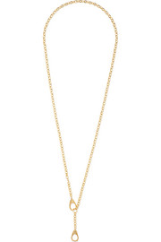 Heavy Belcher Guard Chain 18-karat gold necklace