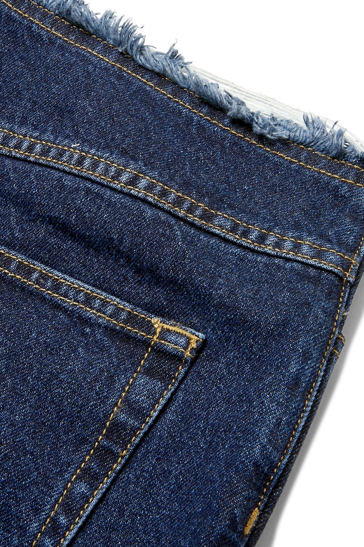 Marques' Almeida Distressed mid-rise slim-leg jeans