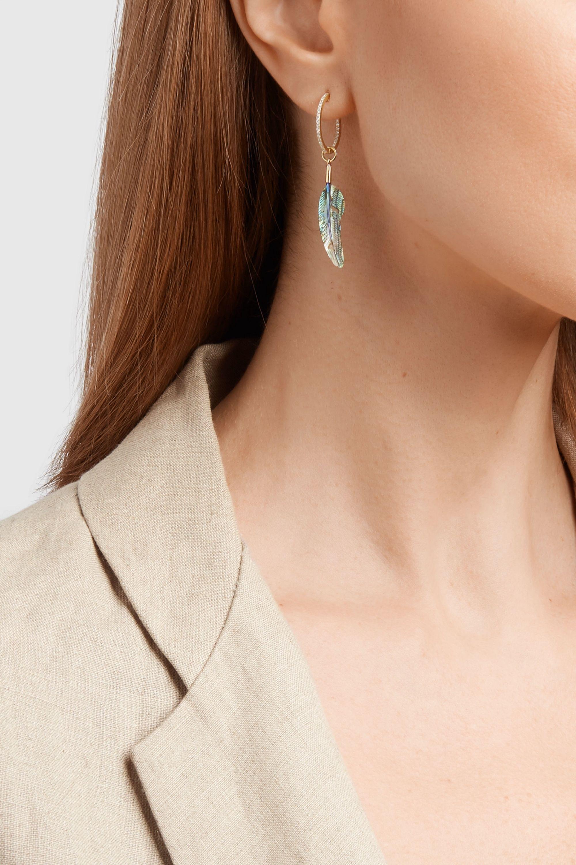 Jacquie Aiche 14-karat gold multi-stone earring