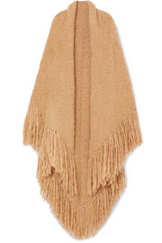 Lauren fringed cashmere wrap