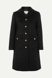 Gucci Embellished wool-felt coat