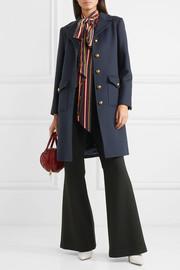 GucciEmbellished wool-felt coat