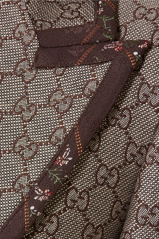 Gucci Cotton and wool-blend jacquard blazer