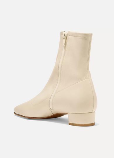 473a35123f51b BY FAR | Este leather ankle boots | NET-A-PORTER.COM
